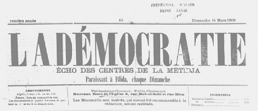 journal la democratie blida